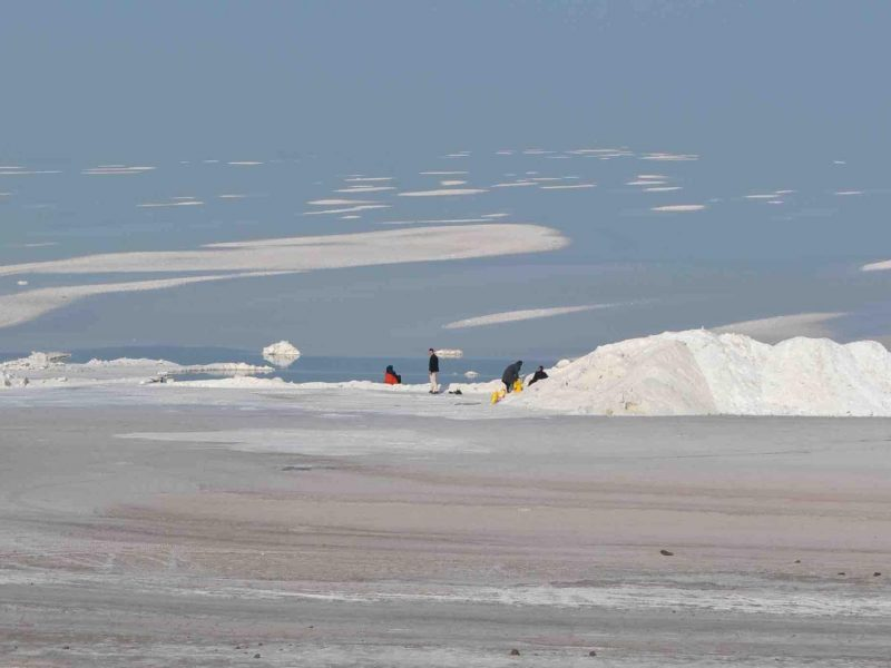 Urmia Lake - front
